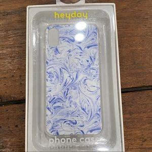 🆕 Heyday Paint Swirl Blue White X 10 IPhone case